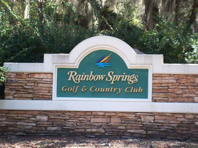 Rainbow Springs Country Club Dunnellon Florida Ocala